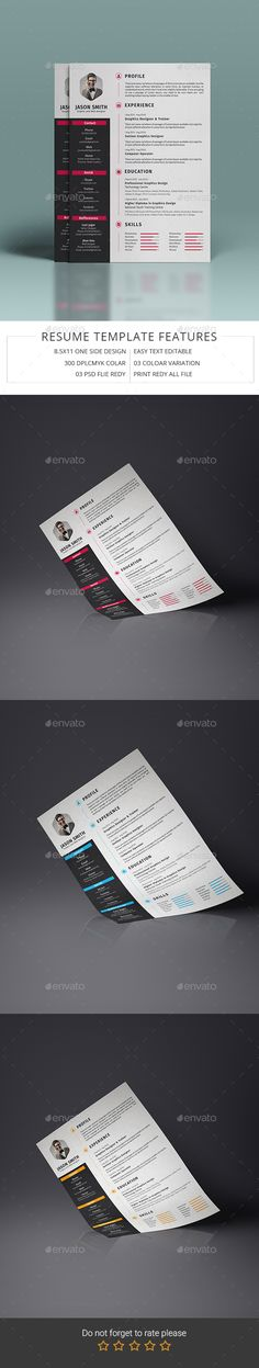 Clean Resume \ Cover Letter Resume cover letters, Resume cover - buy resume templates