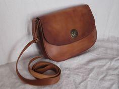 Купить сумка кожаная женская - сумка ручной работы, сумка женская, сумка из натуральной кожи