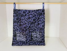 Rabbit Feed Bag Guinea Pig Hay Sack  Navy by SewingInCZ on Etsy