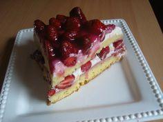 Mascarponés epertorta recept - Tortareceptek.hu Yami Yami, Sandwiches, Pie, Cooking Recipes, Sweets, Baking, Fruit, Food, Projects