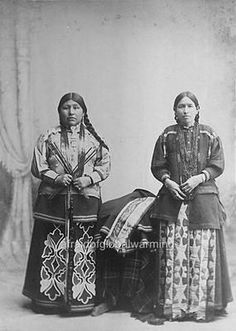 1890 Native American Indian Women