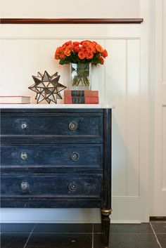 Love this midnight-blue dresser! the buzz blog | see jane shoot... ©Jane Beiles-JulieNightingale