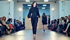 Prefall 16 black shirt / plisee