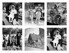 Magic Moonlight Free Images: Vintage Pictures! Free collages images for you!