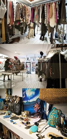 Jutka & Riska, a shop in Amsterdam with vintage, their own brand, customized clothing and cool new clothing. They also have awesome accessories (two locations in Amsterdam: bilderdijkstraat 194, haarlemmerdijk 143) http://www.jutkaenriska.nl/
