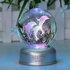 3d Crystal, Crystal Ball, Swarovski Crystals, Cute Night Lights, Unicorn Room Decor, Kawaii Accessories, Clothing Accessories, Magical Jewelry, Cute Room Decor