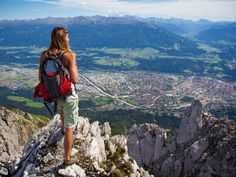 A beautiful scenery awaits you in the mountains of Innsbruck