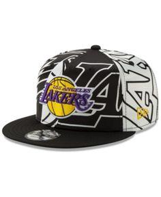 New Era Los Angeles Lakers Over Satin Snapback Cap - White/Black Adjustable Sports Caps, Sports Fan Shop, Los Angeles Lakers Logo, Leather Slippers For Men, New Era Hats, Big Sis, Snap Backs, Snapback Cap, Kobe Bryant