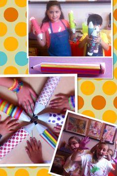 Y colorín colorado.. Esta actividad ha terminado.. Feliz día del niño. A todos los niños de todas las edades#recycled#pencil#gift#canys#kids#