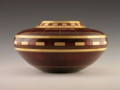 Woodturning Segmenting Wood Vessel Inaugural by DonLemanWoodArtist, $950.00 Don Leman