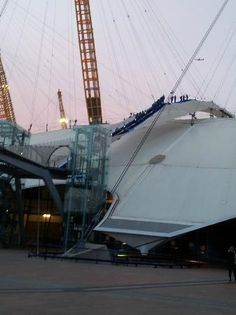 Up at the 02    London, England