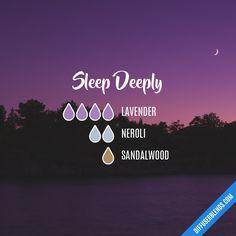 Blend Recipe: 4 drops Lavender, 2 drops Neroli, 1 drop Sandalwood