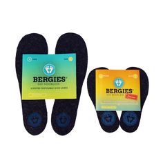 Scented shoe liners – go sockless. With fun scents and junior sizes, these shoe liners are a great idea for the whole family.