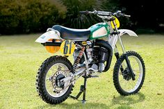 Husky Motocrosser with a (rare for a bike) automatic gearbox