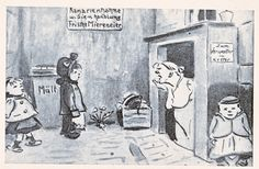 """HEINRICH ZILLE - """"Wollt ihr von die Blume weg, spielt mit'n Müllkasten!"""""""