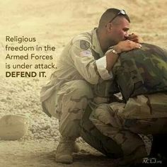 These men and women need our prayers, especially the Catholic servicemembers. The number of Catholic chaplains is sadly very very low. If you know of a young man discerning the priesthood, they might want to prayerfully consider becoming a chaplain. For more information, visit www.milarch.org