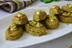 Biskut Pistachios / Pistachios Cookies | Resipi Citarasawan