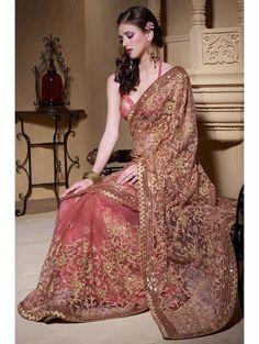 Designer Indian Party Wear Wedding Bollywood Saree Pakistani Heavy Work Sari | eBay