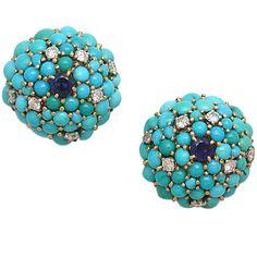 Turquoise, Sapphire & Diamond