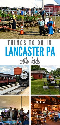 7 Things to Do in Lancaster PA with Kids Amish Country Pa, Pennsylvania Dutch Country, Lancaster Amish, Lancaster Pennsylvania, Lancaster County, Us Destinations, Family Vacation Destinations, Family Vacations, Vacation Ideas
