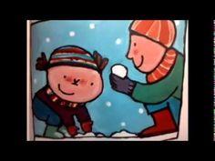 * ▶ kaatje in de winter - YouTube Character, Lettering