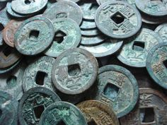 Ancient Japan Japanese Coins Cash Coin History Antique   eBay