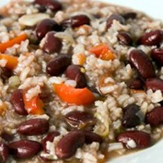 There is nothing better than a big bowl of red beans and rice. Our recipe takes most of the excess fat and calories out to make it nutritiously filling as well.