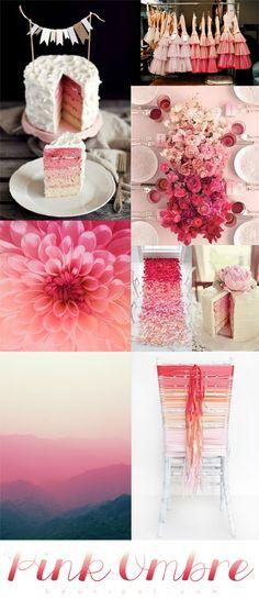 Colour Palette - Pink Ombre