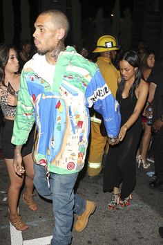 Chris Brown SPOTTED OUT With Karrueche Tran At Hyde NightClub, Plus Usher's Stepson In Critically Condition After Jet Ski Accident! (Photos)