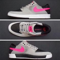Nike SB P-Rod 7 Grey/Pink-Black