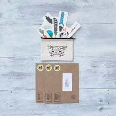 Need a gift for the creative student in your life? A 3 month subscription to Tattly is perfect! Each month receive 10 fun artist designed temporary tattoos. An excellent care package to keep your student smiling when they leave for college.