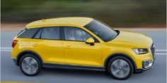 Audi is also confident that their smallest and cheapest #SUV can compete with the likes of the luxury compact vehicles such as the BMW 1 Series hatchback or Mercedes-Benz's GLA.