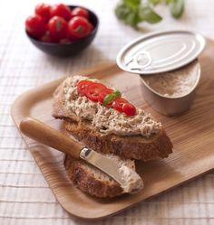 Photo recette Tartinade thon basilic chèvre façon rillette