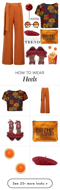 """Hot NYFW Runway Trend"" by deeyanago on Polyvore featuring Alice + Olivia…"