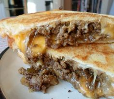 Grilled Cheese Burgers - oh my!