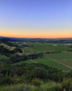 happy to wake up early to see the sunrise this morning over the valley. #stagsleapdistrict #napavalley #california #winecountry #4winds #vineyard #vines #spring #sunrise #april #VisitNapaValley by kerrinlaz