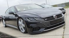 Frontansicht des VW Arteon Car Volkswagen, Vw Cars, Supercar, Mazda, Cars And Motorcycles, Peugeot, Life Goals, Golf, Sport Cars