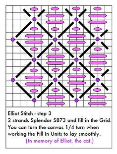Needlepoint Study Hall: Elliot Stitch