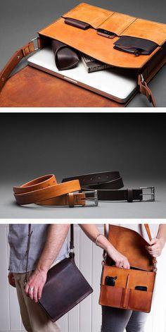 A Kickstarter We Love: Eleisha Nylund'S Chocolate Brownie Leather  Diese und weitere Taschen auf www.designertaschen-shops.de entdecken