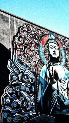 Buddha | Street Art | Street Artists | Art | graffiti | mural | travel | modern art | urban art | Schomp MINI