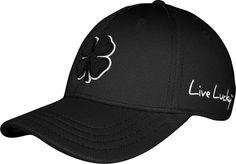 710d24b2497d5 Black Clover Men's Premium Clover Golf Hat, Size: L/XL Black Clover Hats