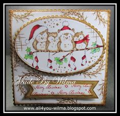 Christmas Card 23-2017: http://all4you-wilma.blogspot.nl/2017/07/wild-rose-studio.html