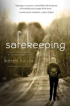Safekeeping by Karen Hesse -- Ridley comes back from volunteering abroad to find her country in total chaos. The American People's Party has assassinated the president and taken power. Travel is restricted and citizens are afraid. After traveling for 24 hours, Ridley finally lands, but her parents aren't there to pick her up from the airport - something is wrong.
