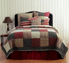 VHC Brands Quilts | Victory Quilt | Patchwork Quilts Bedding and Accessories by Victorian Heart | PaulsHomeFashions.com