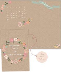 10 Well-Designed September Desktop Calendars to Download Now | StyleCaster