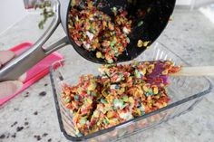 Isn't always bittersweet when the summer ends though? Fruity Pebbles Cereal, Back To School Breakfast, Cereal Bars, Dishes, Baking, Eat, Recipes, Bread Making, Plate