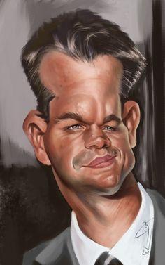 Matt Damon by bogdancovaciu on DeviantArt