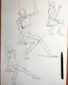 Figure Drawing Practice, Figure Sketching, Figure Drawing Reference, Art Reference Poses, Human Anatomy Drawing, Anatomy Art, Anatomy Sketches, Art Sketches, Perspective Drawing Lessons