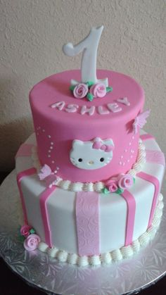 Hello Kitty Cake                                                                                                                                                                                 More