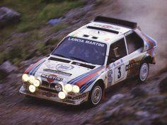 Acropolis Rally 1986 Lancia Delta S4